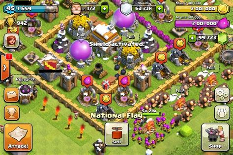 game coc mod android 2015 clash of clan hack get your free unlimited gems gold