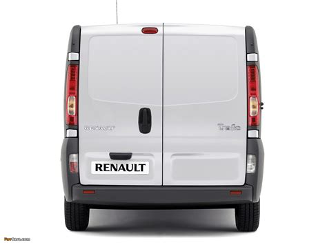 renault trafic back 2010 renault trafic photos informations articles