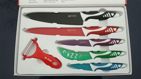 Used Kitchen Knives For Sale used royal swiss switzerland 6 pcs knife set new in b11