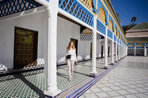marrakech     bahia palace jardin de la