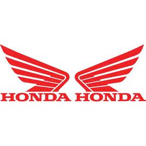 Honda Decals 2 Honda Wing Logo Vinyl Decal Car Truck Window Sticker