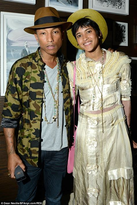 pharrell williams wife and kids pharrell williams takes wife helen lasichanh to tracey