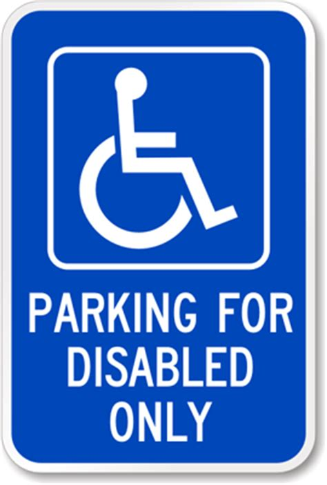 disabled parking template disabled parking signs
