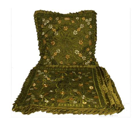Paket Bantal Cantik 5pcs hisyana kerajinan bordir kerancang khas tasikmalaya sarung bantal kursi set bordir kerancang