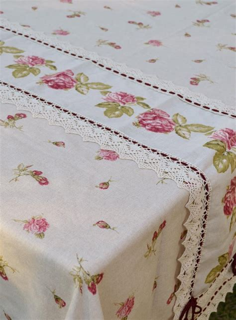 Handmade Tablecloth - handmade tablecloth in linen blend bocciolo tablecloths