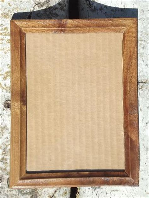 Handcrafted Frames - crafted hardwood picture photo frames carved black