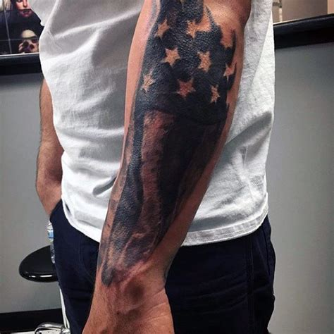 american flag tattoo on lower 90 patriotic tattoos for nationalistic pride design