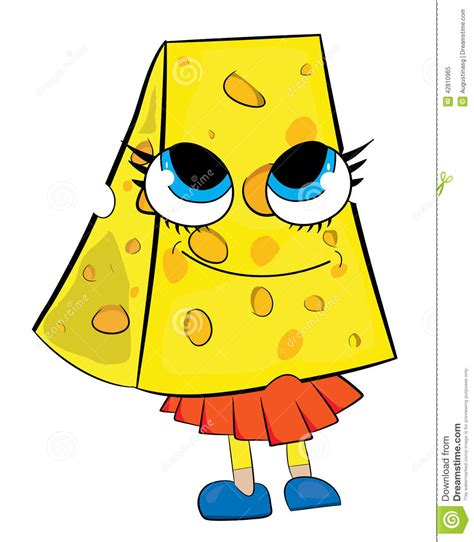 imagenes animadas queso personaje de dibujos animados del queso stock de