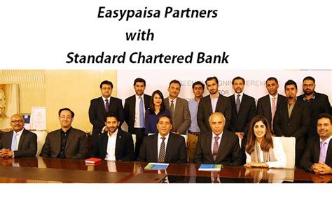 standard chartered bank of pakistan easypaisa partners with standard chartered for the launch
