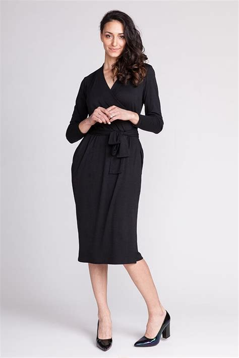 Pattern Jersey Wrap Dress | named clothing olivia jersey wrap dress downloadable pattern
