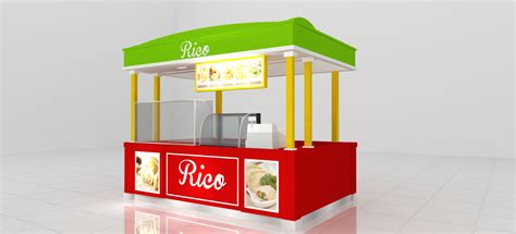 Desain Booth Makanan   desain booth pastel hokibooth