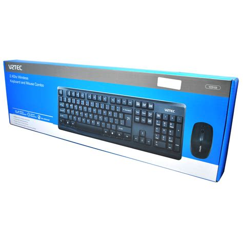 Vztec 2 In 1 Combo Wireless Keyboard And Mouse Vz3103 Promo vztec 2 in 1 combo wireless keyboard and mouse vz3103