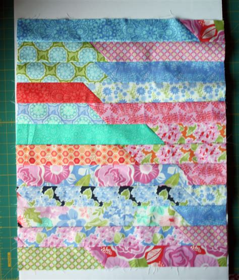 Jelly Roll Race Quilt Tutorial by Tutorials Avery Sewing