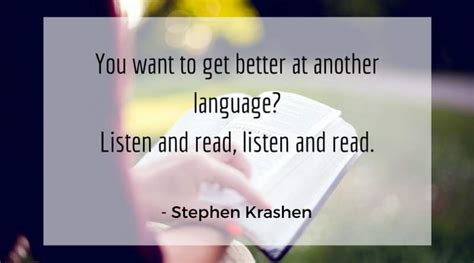 bringing linguistics to work a story listening story finding and story telling approach to your career books stephen krashen on language learning in the polyglot community