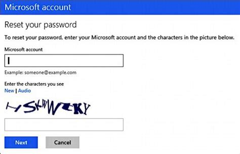 windows reset account password how to reset change microsoft account password