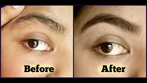 how to shape eyebrows perfectly at home how to do