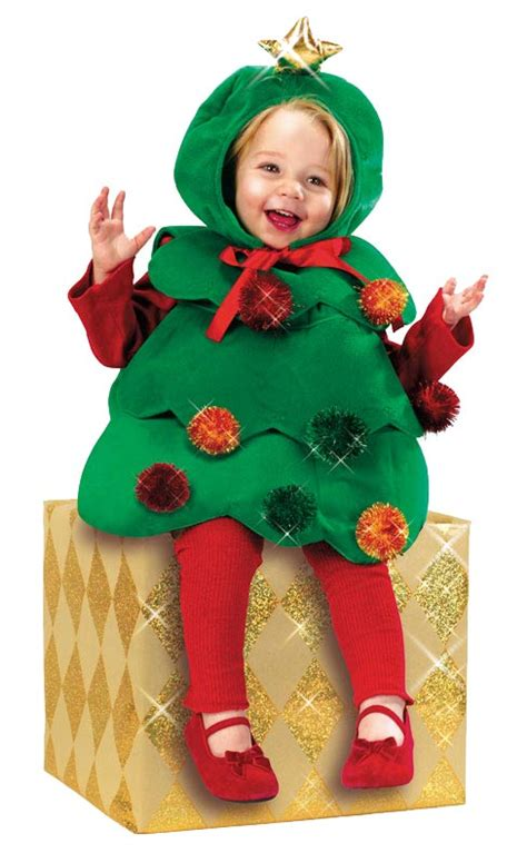 toddler christmas tree cutie costume es007430 karnival