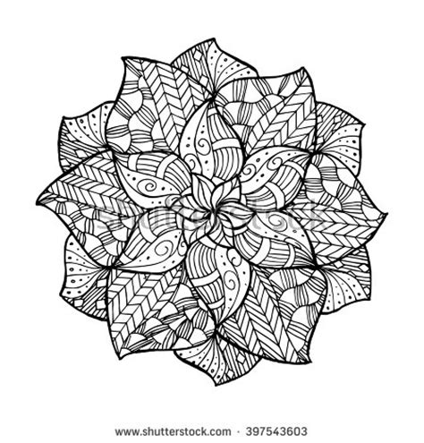 creative coloring mandalas art 1574219731 zentangle flower mandala for coloring book and adults made by trace from personal hand drawn