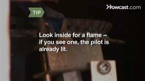 How To Light A Pilot Light by How To Relight A Water Heater Pilot Light