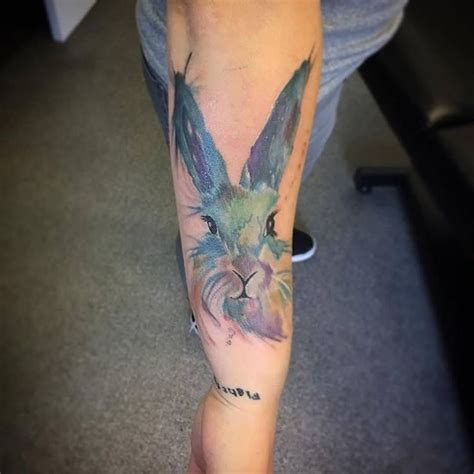 collection of 25 the latest easter rabbit tattoo design