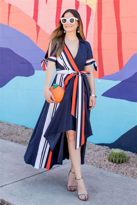 Dress Valerie milly valerie dress and kate spade orange bag in