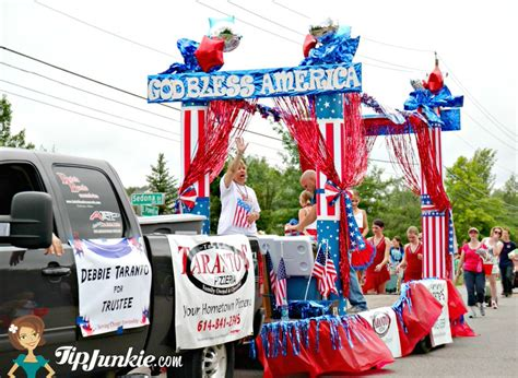 themes for a carnival float parade float ideas for july 4th tip junkie