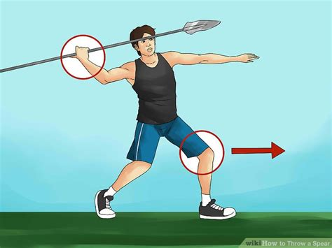 8 Steps To Throwing A Fantastic by How To Throw A Spear 15 Steps With Pictures Wikihow
