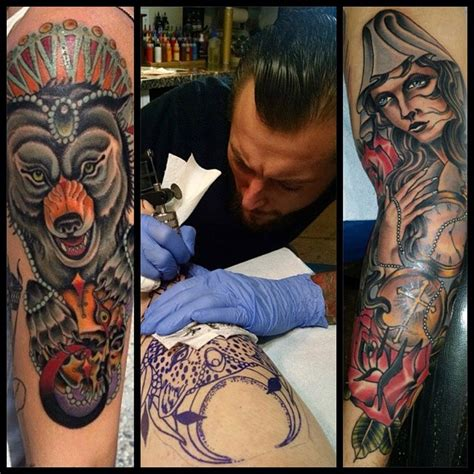 new tattoo artist keith diffenderfer remington tattoo shop