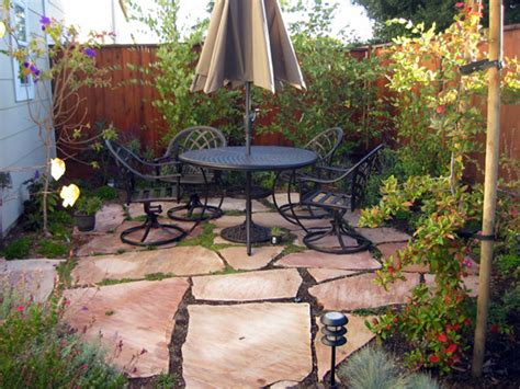 small concrete backyard ideas patio designs for small spaces home decorating ideas