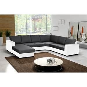 canap 233 en u panoramique 6 224 7 places moderne et design