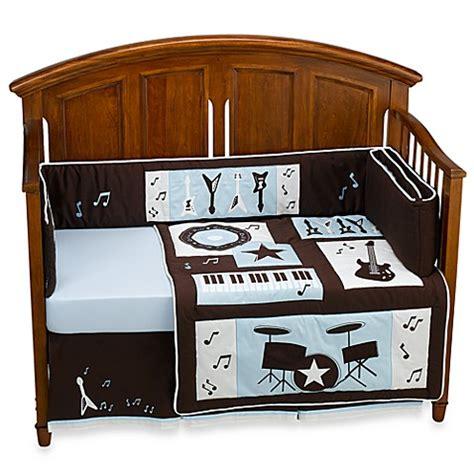 Rock N Roll Crib Bedding Lambs 174 Rock N Roll 4 Crib Bedding Set Bed