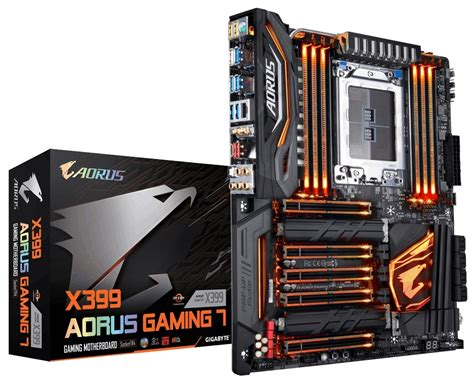 Diskon Gigabyte X399 Aorus Gaming 7 gigabyte x399 aorus gaming 7 amd threadripper kann