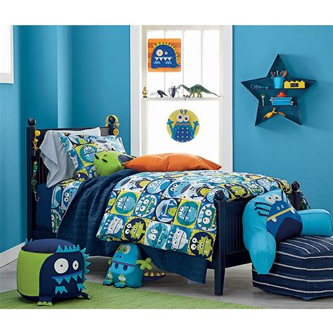 monster bedding monsters percale kids sheets bedding set company kids