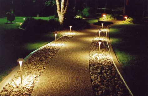 led light design fascinating led pathway lighting kichler