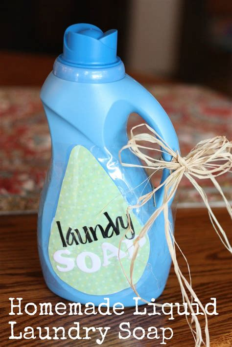 Handmade Laundry Soap - liquid laundry soap i can teach my child