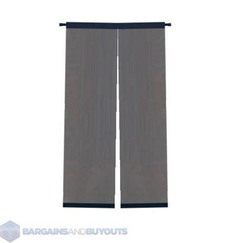 foxy magnetic mesh screen door home depot image mag