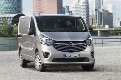 opel vivaro 2017 2015 opel vivaro commercial van revealed gm authority