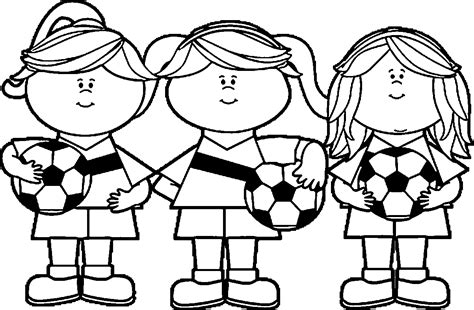 coloring page soccer girl girl soccer player free images playing football coloring