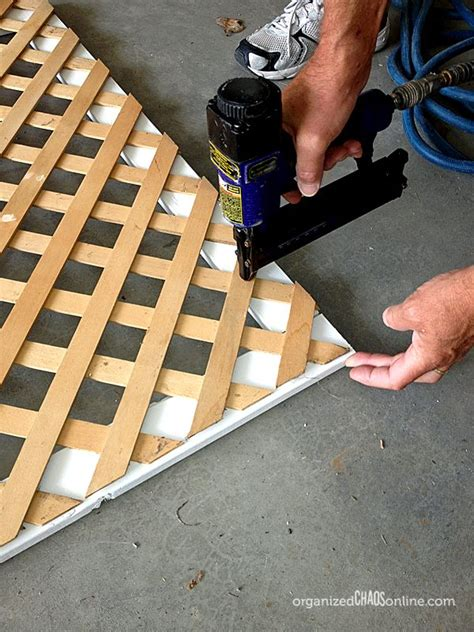 how to make an easy patio privacy screen barrels