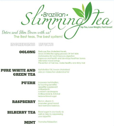 Thin Tea Detox And Burn by Burning Tea Tea Detox Best Tea To Drink Green