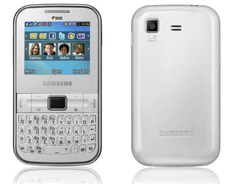 themes for samsung duos qwerty samsung chat 322 dual sim and qwerty keyboard mobile