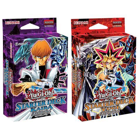 yugi reloaded starter deck card list yu gi oh tcg yugi or kaiba reloaded starter deck