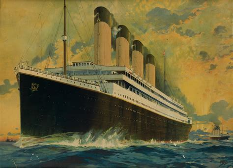 images of the titanic posters of the titanic swann galleries news