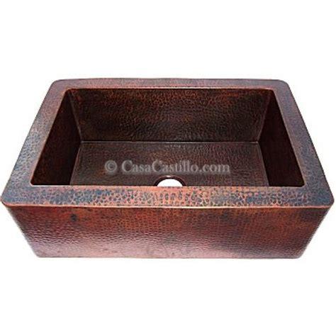 lead free copper sinks copper apron sink 1 bowl
