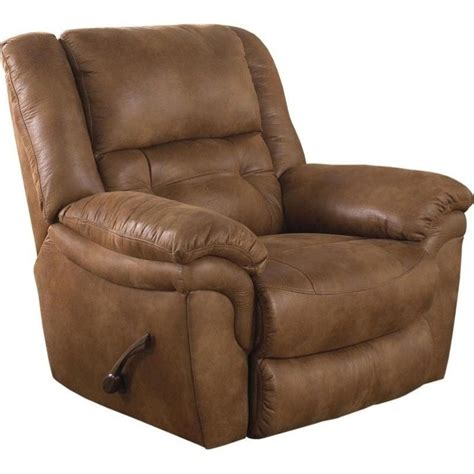 Recliners That Lay Flat by Catnapper Joyner Power Lay Flat Fabric Recliner In Almond