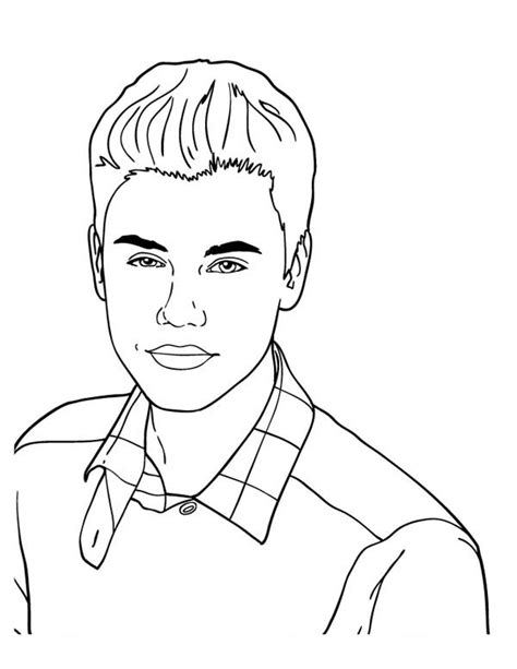 cute music coloring pages cute drawings of justin bieber www pixshark com images