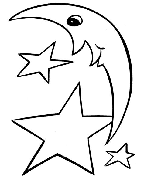 Shooting Star Coloring Pages Cliparts Co Shooting Coloring Pages