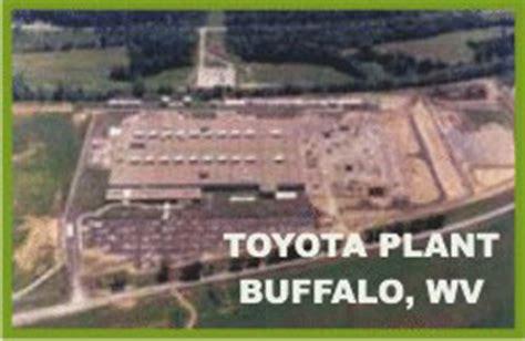 Toyota Buffalo Wv Toyota Transmission Plant
