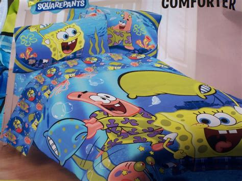 spongebob comforter set spongebob squarepants pajama party twin comforter sheet