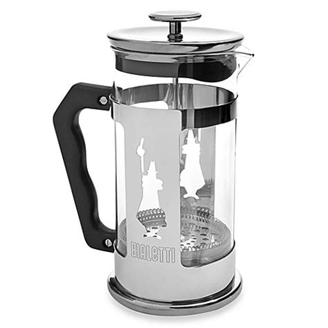 bed bath and beyond french press bialetti 174 preziosa 8 cup french press bed bath beyond